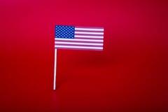 Taglio della carta della bandiera americana Fotografia Stock