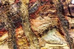 Taglio delle rocce fotografia stock