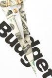 Taglio di bilancio Fotografia Stock Libera da Diritti