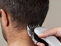Taglio di capelli Fotografie Stock Libere da Diritti