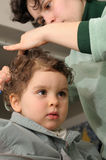 Taglio di capelli domestico Immagine Stock