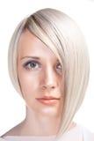 Taglio di capelli piacevole Fotografia Stock Libera da Diritti