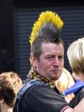 Taglio di capelli punk Immagine Stock