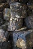 Taglio di legno ed impilato Fotografie Stock Libere da Diritti