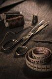 Taglio e confezione Fotografie Stock Libere da Diritti