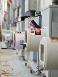 Taglio industriale di potenza Fotografie Stock Libere da Diritti