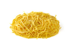 Tagliolini,意大利蛋意大利面食 库存图片