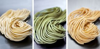 Tagliolini pasta royalty free stock images
