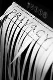 Tagliuzzamento del documento fotografie stock libere da diritti