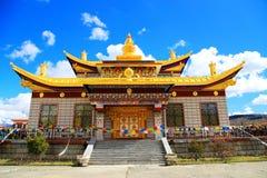 Tagong temple, a famous Sakya Tibetan Buddhism temple Royalty Free Stock Photos