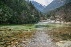 Tagong-Wiesen--dhochebenenlandschaft in Sichuan, China Stockfoto