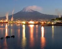 Tagonoura Port royalty free stock photography