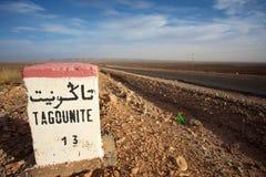 Tagounite 13 km Royaltyfria Foton