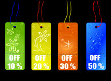 Tags. Shopping concept vector illustration , for sale season Royalty Free Stock Photography