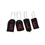 Tags black Friday discount buy sale Royalty Free Stock Photos