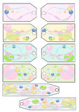 Tags Bubbles Royalty Free Stock Photos