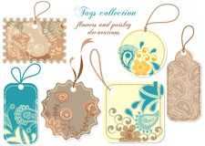 Tags collection royalty free illustration