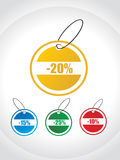 Tags for discount sale Royalty Free Stock Photography