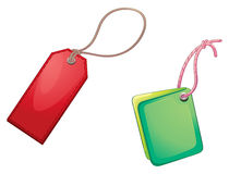 Tags illustration Royalty Free Stock Image