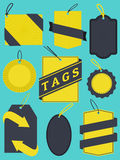 Tags an Labels Collection Royalty Free Stock Image