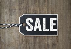 Tags and Labels with Special Offer Sale Discount. Black wooden Tags and Labels with Special Offer Sale Discount stock photo