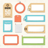 Tags and Labels Royalty Free Stock Photo