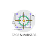 Tags And Markets Pointers Icon Royalty Free Stock Image