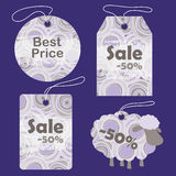 Tags for New Year Royalty Free Stock Photos