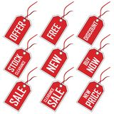 Tags For Sale Royalty Free Stock Images