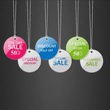 Tags for sale. Royalty Free Stock Photo