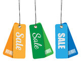 Tags for sale. Royalty Free Stock Photography