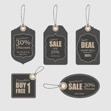 Tags for sale,vector Royalty Free Stock Photos