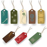 Tags set Stock Images