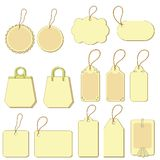 Tags, set Royalty Free Stock Images