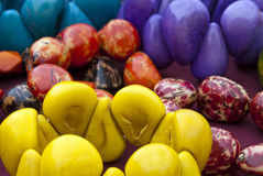 Tagua Jewelry - Bracelets Royalty Free Stock Photos