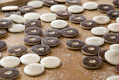 Tagua Nut Buttons For Clothing Stock Image