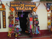 Tagua store, Chiquinquira , Colombia royalty free stock photos