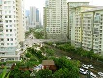 Taguig Condominiums, Taguig, Metro Manila, Philippines Royalty Free Stock Images