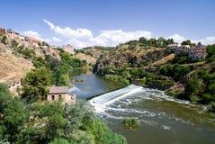 tagus Τολέδο ποταμών στοκ φωτογραφία με δικαίωμα ελεύθερης χρήσης