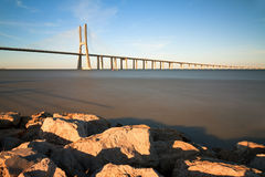 Tagus bridge Stock Photo