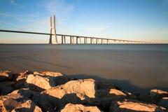 Tagus bridge Stock Photo