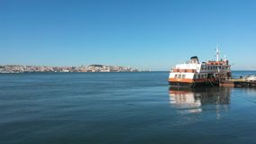 Tagus ferry boat Royalty Free Stock Image