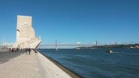 Tagus river Royalty Free Stock Images