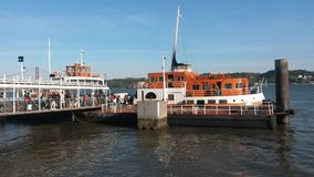 Tagus river ferry Royalty Free Stock Photography