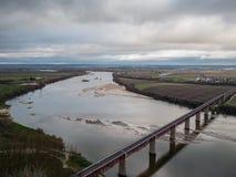 Tagus River por Santarem imagens de stock royalty free