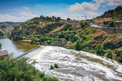 The Tagus river in Toledo Royalty Free Stock Photo