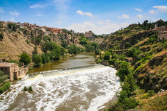 The Tagus river in Toledo Stock Image