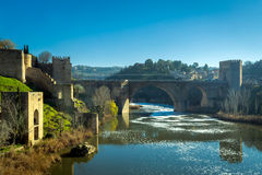 Tagus river in Toledo Stock Photography