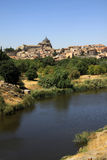 Tagus river in Toledo, Spain Stock Images