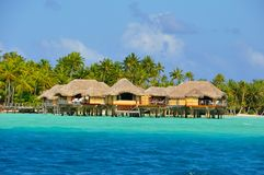 Tahaa, french polynesia Royalty Free Stock Photo